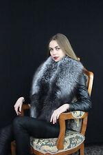 Silver Fox Fur Stole ~60 inch. Finland Saga Furs Fox Boa Wrap Collar