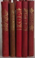 CHARLES DICKENS The Christmas Carol, & 4 other Christmas Books SET OF 5 FIRSTS