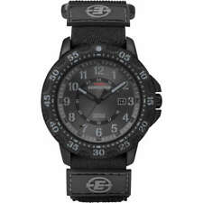 Timex Watch Expedition T49997 black fabric strap sports men's fashion