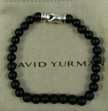 David yurman men's Spiritual bead bracelet with  onyx 6mm