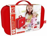 E3010 HAPE Doctor On Call Set Wooden Pieces with Bag [Playscapes] Children 3Yrs+