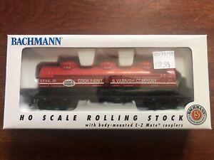 Bachmann HO Scale Cook Paint & Varnish Company Triple Some Tank Car C.P.V.X 101