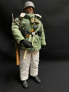 DRAGON / DID WWII GERMAN WINTER PARA Custom 1:6 Scale Action Figure