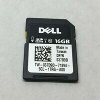 GENUINE DELL 16GB vFLASH CLASS 10 HC SECURE DIGITAL SD CARD 37D9D 7GH0Y H1H8M