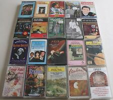 Audio Music Cassette Tapes Classical, Country & party Tapes  x 42