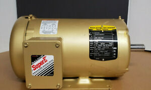 Baldor EM3558T Super E Motor 2 HP 1755 145T TEFC 200V