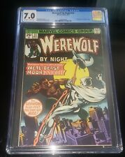 1975 MARVEL Werewolf By Night #33 -CGC 7.0 2nd Appearance of Moon Knight