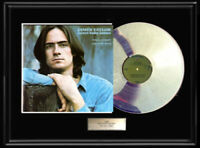 JAMES TAYLOR SWEET BABY JAMES WHITE GOLD SILVER PLATINUM TONE RECORD LP ALBUM