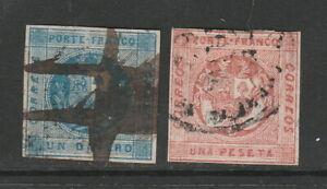Peru Scott# 9-10 Used