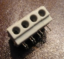 4 Way 5mm Screwless Terminal Block 144R-04P (144)