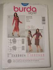 Burda-7365 Skirt Vest Suit Sewing Pattern Size 6-8-10-12-14-16-18 UC