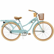 """Huffy 26"""" Womens Nel Lusso Cruiser Bike with Perfect Fit Frame,Blue Free shiping"""