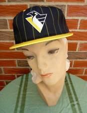 Vintage '90s Pittsburgh Penguins Hat Adjustable Unisex New w/Official NHL Tag
