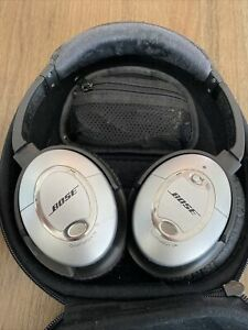 Bose QuietComfort 15 Headband Headphones - Silver/Black