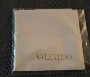 Valentino Brillenputztuch Microfasertuch auch für Sonnenbrille Neu