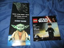 LEGO/LEGOLAND Star Wars Days Minifigure 5004406 FIRST ORDER GENERAL +Event Guide