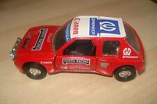 CORGI 94183 PEUGEOT 205 TURBO Rally Car (1:36 Scale)