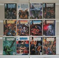 Inhumans 1 2 3 4 5 6 7 8 9 10 11 12 Marvel Knights Set Series Run Lot 1-12 VF/NM