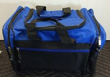 Blue/Black Gym Locker Duffel bag NEW