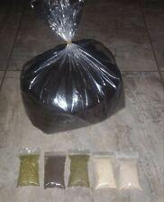 5 Lbs Worm Castings + Alfalfa + Rock Phosphate + Kelp + Crab Meal + AZOMITE