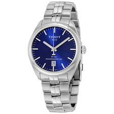 Tissot PR 100 Automatic Blue Dial Mens Watch T101.407.11.041.00