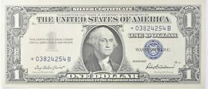 ERROR Replacement *Star* 1957 $1 Silver Certificate Note - Tough *613