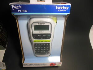 Brother PT-H110 Easy Portable Handheld Label Maker PTH110 New Open Box