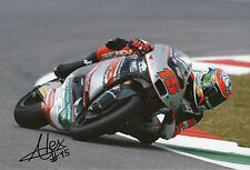 Alex De Angelis Hand Signed 2014 Moto2 Tasca Racing Suter 12x8 Photo 3.