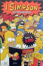 FUMETTO I SIMPSON EXTRAVAGANZA  ZELIG EDITORE GROENING SUPPLEMENTO LINUS N.411
