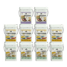 Emergency Food Supply Freeze Dried Survival Kit 1 Month 4 Person Pantry Storage