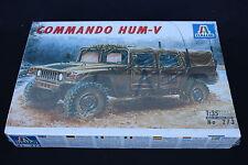 XZ102 ITALERI 1/35 maquette voiture 273 commando HUM- V hum Us