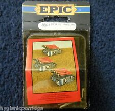 1994 Epic Guardia Imperiale Manticora MULTI LAUNCHER CITTADELLA 6mm 40K WARHAMMER Nuovo di zecca con scatola