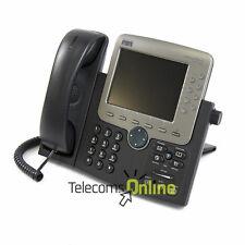 Cisco CP-7970G VoIP SIP telefono * Grado A * 1 Anno di Garanzia & VAT consegna il giorno successivo