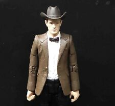 "Doctor Who the 11th Eleventh Doctor Stetson Cowboy  action figure 5.5"" old #ew3"