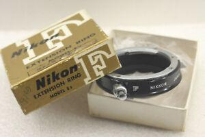 Nikon F Extension Ring Model E2 Japan W/Box - USED EX++ D95D