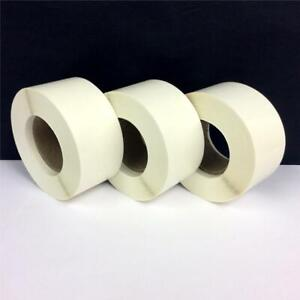 Clear Stickers Round Removable Sticky Adhesive Glossy Paper Card Seal Circle Tab