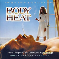 Body Heat - 2 x CD Complete Score - Limited Edition - John Barry