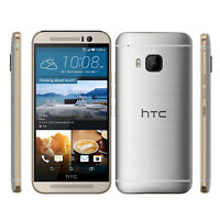 Unlocked HTC ONE (M9) 32GB 20MP GSM 3G 4G LTE AT&T Smartphone - Gunmetal SILVER