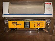Marklin 4773 Rail Box Freight Car. Nib