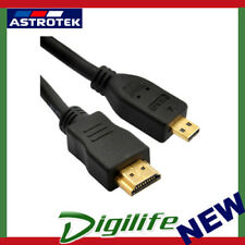 Astrotek HDMI to Micro HDMI Cable 2m 1.4v A Male to D Male Gold Plated RoHS AU