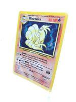 Ninetales 1999 Wizards Nintendo Pokemon Base Set Holo Rare 12/102 MINT