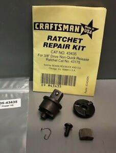 Craftsman Ratchet Repair Kit 43435 3/8 Drive Fit Non-Quick Release 43175 Ratchet