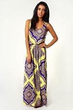 Paisley Sleeveless Dresses Size Petite for Women