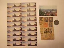 COINS PRAGUE COIN MAGNET STICKERS CZECHOSLOVAKIA CZECH REPUBLIC 27 ITEMS #4