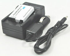 New Battery and Charger EN-EL12 for Coolpix AW100 AW100s AW110s AW120s AW130s