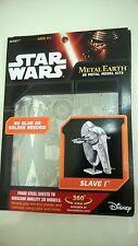 Star Wars Metal Earth Slave 1