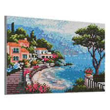5D DIY Full Drill Square Sea Diamond Painting Cross Stitch Embroidery Kits Craft