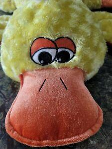 "Dan Dee Duck Plush Pillow 31"" Floppy Stuffed Laying Down Easter Big Large Jumbo☆"