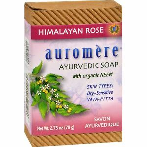 Auromere Ayurvedic - Bar Soap Himalayan Rose - 2.75 oz