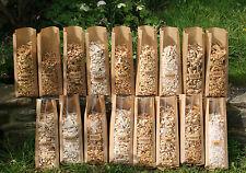 BEST BBQ Smoking Wood Chips like APPLE CHERRY OAK HICKORY ALDER BEECH 5X1 Litre